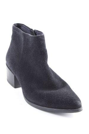 Vagabond Reißverschluss-Stiefeletten schwarz Casual-Look