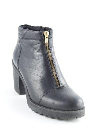 Vagabond Reißverschluss-Stiefeletten schwarz Elegant
