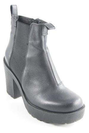 Vagabond Reißverschluss-Stiefeletten schwarz Street-Fashion-Look