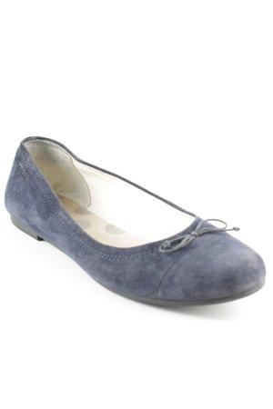 Vagabond Riemchen Ballerinas dunkelblau Street-Fashion-Look