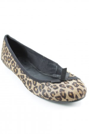 Vagabond Strappy Ballerinas leopard pattern animal print