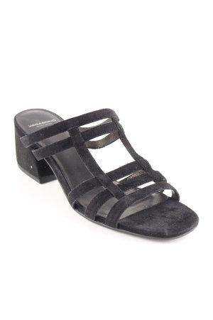 Vagabond Sandalias romanas negro elegante