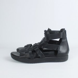 Vagabond Sandalias romanas negro Cuero