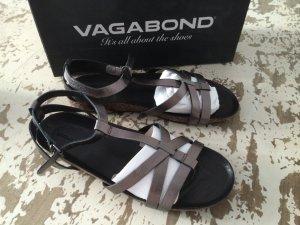 Vagabond Sandale Metallic Leder Typ Birkenstock