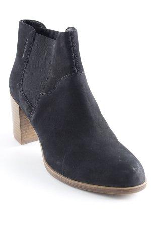 Vagabond Schlüpf-Stiefeletten schwarz Street-Fashion-Look