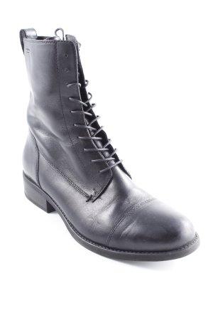 Vagabond Bottines à lacets noir style décontracté
