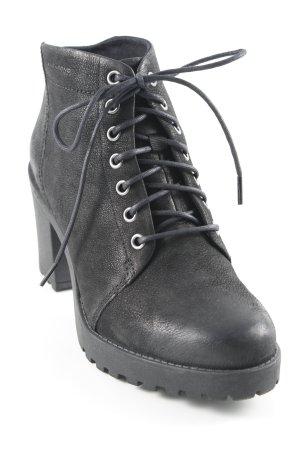 Vagabond Schnür-Stiefeletten schwarz Casual-Look