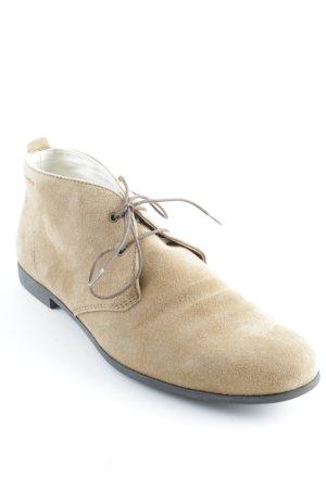 Vagabond Lace Shoes camel casual look