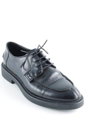 Vagabond Schnürschuhe schwarz schlichter Stil