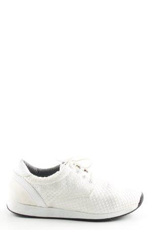 Vagabond Zapatilla brogue blanco look casual