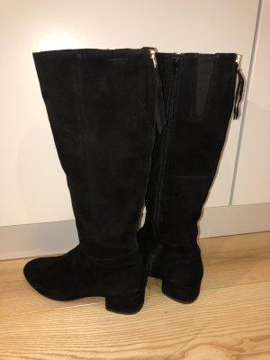 Vagabond Heel Boots black suede