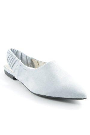 Vagabond Bailarinas sin talón azul celeste elegante
