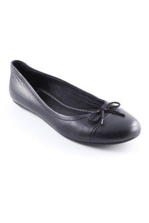 Vagabond Mary Jane Ballerinas black