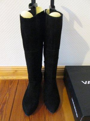 Vagabond Slouch Stiefel mit Keilabsatz Wildleder Gr.36