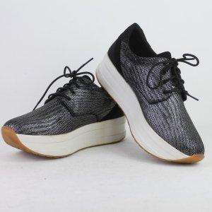 VAGABOND Sneaker Gr. 39 Plateau schwarz weiß (18/10/172)