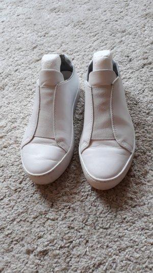 Vagabond Sneaker slip-on bianco Pelle
