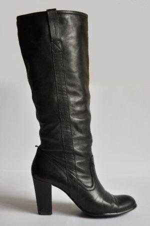 Vagabond Stiefel Leder schwarz Gr. 40