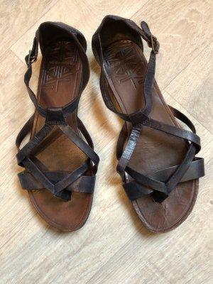 Vagabond Toe-Post sandals dark blue