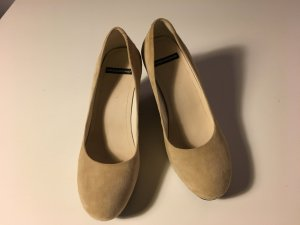 Vagabond Wedges in Nude