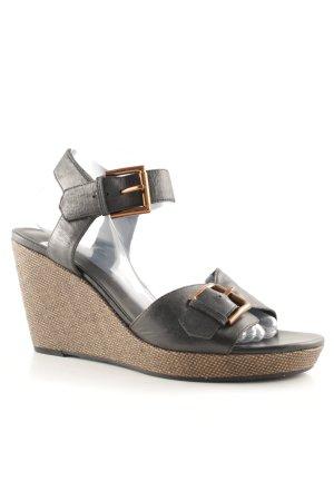 Vagabond Wedges Sandaletten schwarz Casual-Look