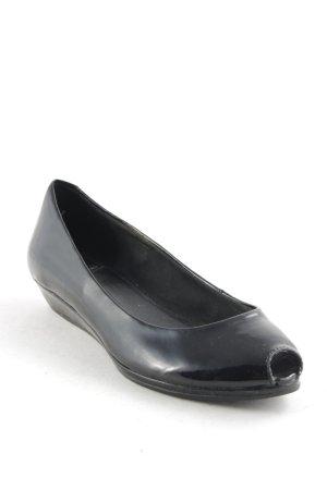 Vagabond Wedges Sandaletten schwarz Elegant