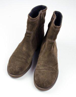 Vagabond Wildleder Stiefelette Boots braun Echtleder / Rauleder Gr. 39