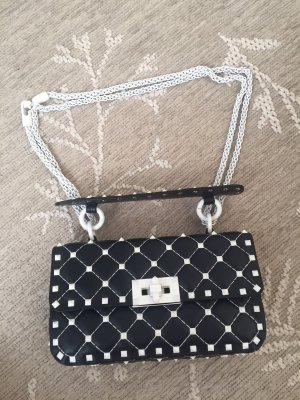 Valentino Handbag black-white