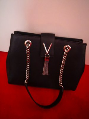 C. Valentino Frame Bag black imitation leather