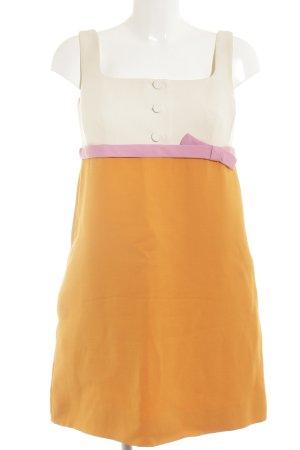 Valentino A-Linien Kleid mehrfarbig Elegant