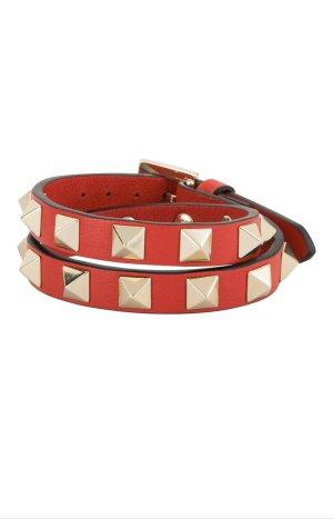 Valentino Braccialetto sottile rosso