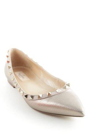 "Valentino Bailarinas con punta ""Rockstud Ballerina """