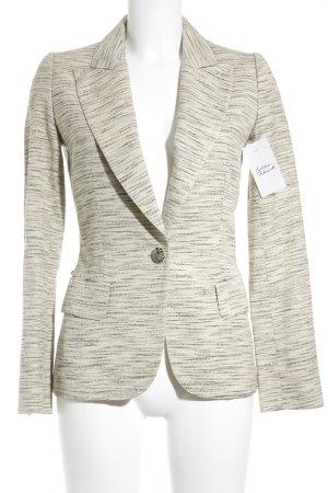 Valentino Blazer schwarz-beige meliert klassischer Stil
