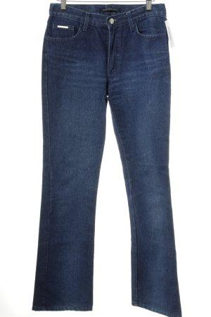 Valentino Boot Cut Jeans blau Casual-Look