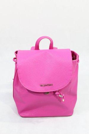 Mario Valentino Zaino laptop rosa Tessuto misto