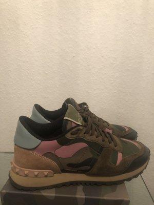Valentino Camo Sneaker