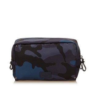 Valentino Camouflage Nylon Pouch