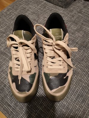 Valentino Camouflage Sneakers 37