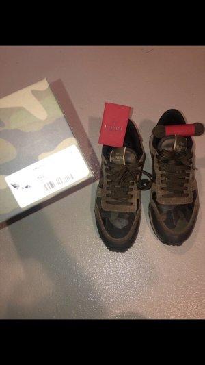 Valentino Lace-Up Sneaker multicolored