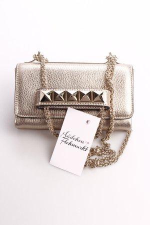 Valentino Clutch goldfarben Eleganz-Look