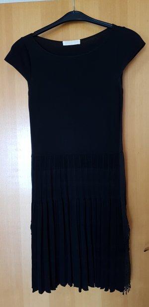 VALENTINO # Couture Strickkleid mit Plissee Faltenrock # D 40/D42