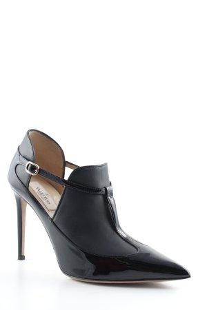 Valentino Cut-Out-Stiefeletten schwarz Business-Look