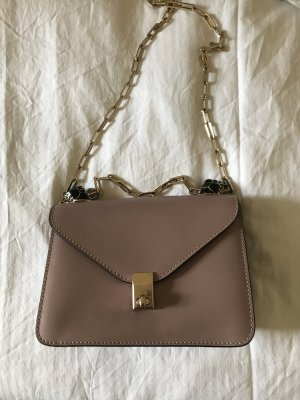 Valentino Enamel Panther Crossbody in Poudre