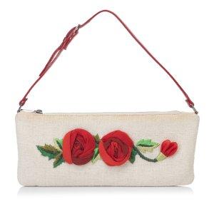 Valentino Floral Hemp Handbag