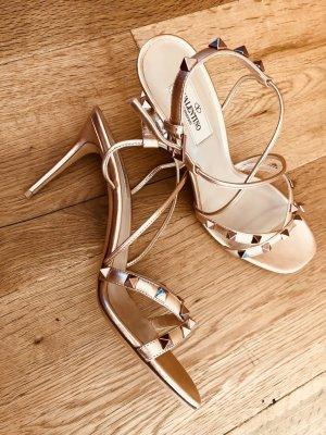 Valentino Garavani Rockstud High Heel Sandalette Gr. 38,5
