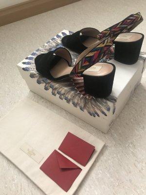 Valentino Sandalo multicolore Scamosciato