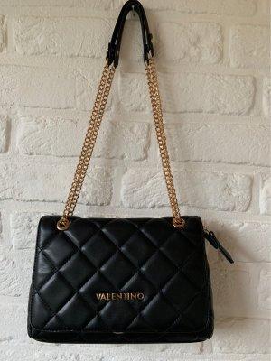 C. Valentino Handbag black-gold-colored