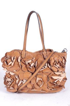Valentino Handtasche braun-schwarz extravaganter Stil