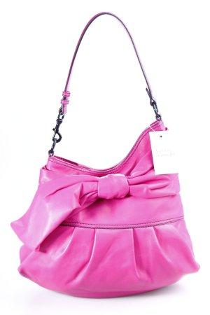 Valentino Handtasche pink-schwarz Street-Fashion-Look