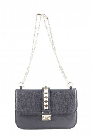 "Valentino Handtasche ""Rockstud Lock Crossbody Bag Medium Black"" schwarz"