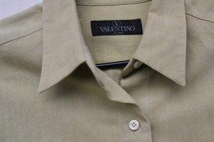 "VALENTINO""-Hemdbluse, S, mustard, neuwertig"